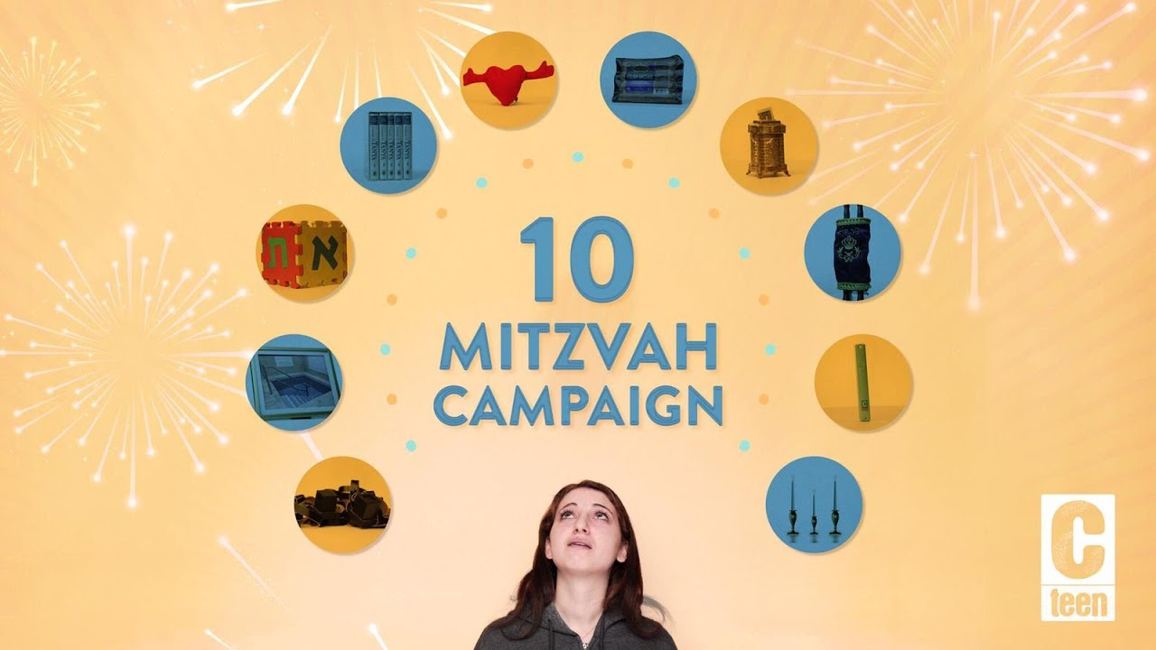 The Rebbe's 10 Mitzvah Campaigns